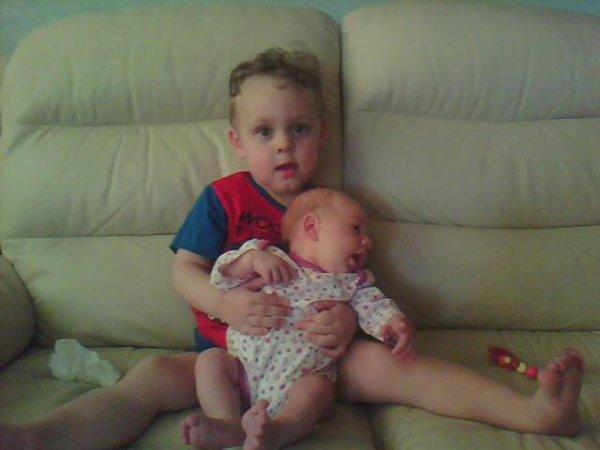 ma filleul  et son frere