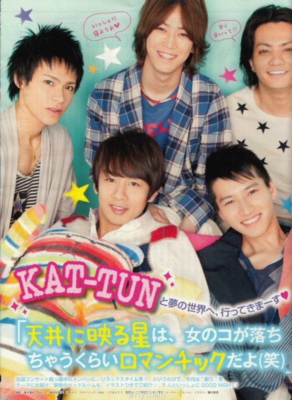 Voici quelques images des KAT-TUN