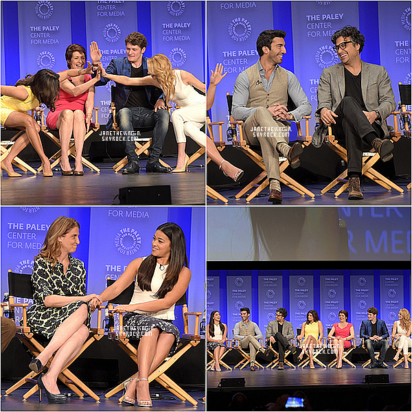 Le cast au Paley Fest 2015 !