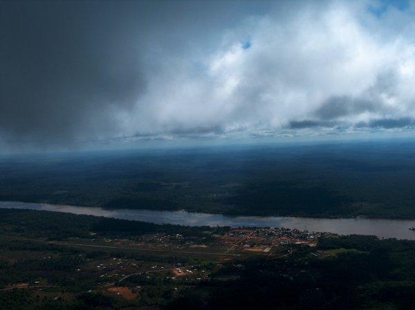 Vue aérienne de Saint-Georges