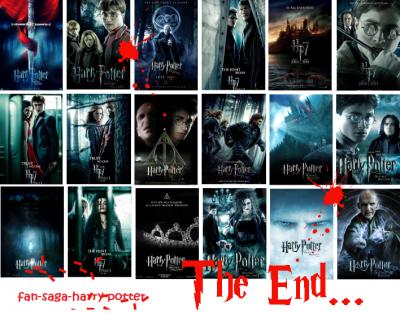 Les poster HP7 Part I et II.