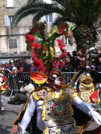 Carnaval de Corse à Sartène, 1er mai 2011