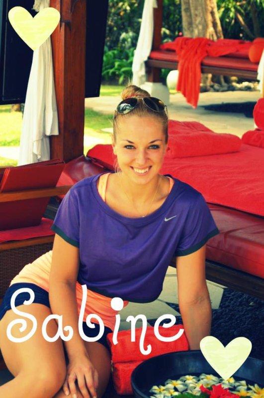 Quelques nouvelles de Sabine ! :)