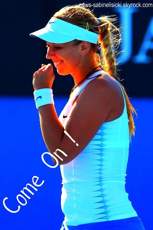 Suite Open d'Australie --> Victoire de Sabine au 2ème tour