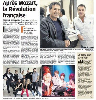 Après MOR, Les Amants de la Bastille!!!