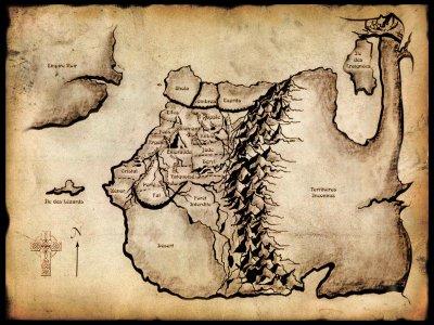 Pour vous repéré dans Enkidiev voici une carte