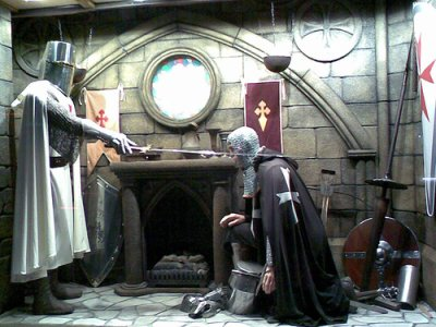 Tu veut devenir chevalier d'émmeraude ?