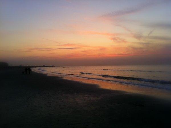 Un beau coucher de soleil <3