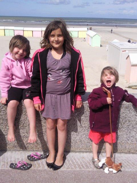 julie et mes deux filles