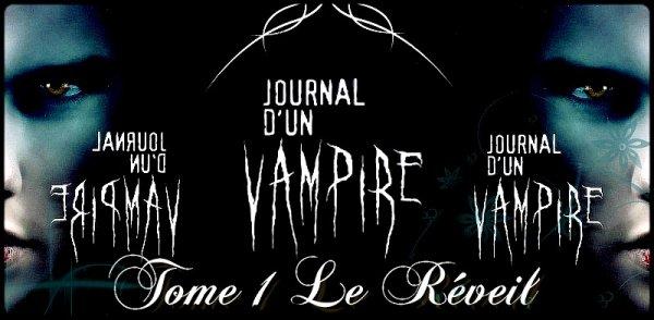 Le Journal D'un Vampire Tome 1 : Le Réveil