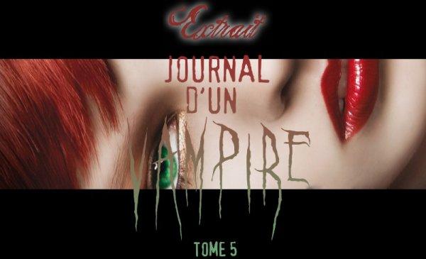 Extrait : Le Journal D'un Vampire Tome 5