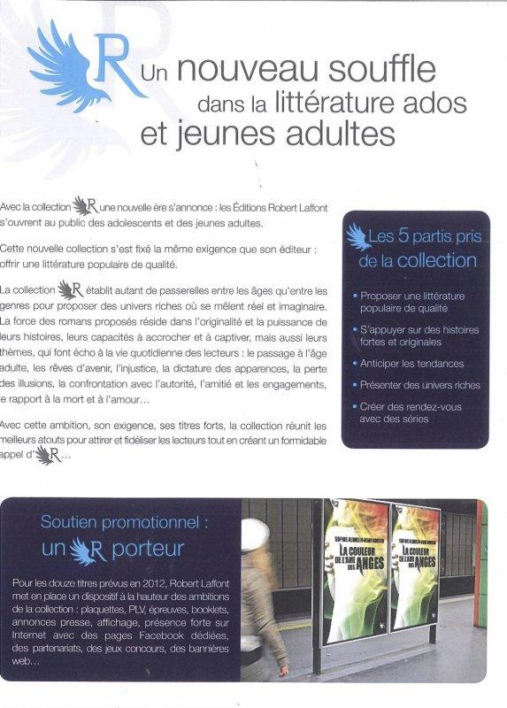 """Robert Laffont : Entrez dans un nouvel """"R"""" avec sa collection YA"""