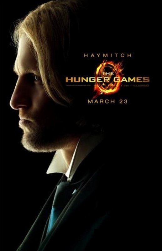 8 posters officiels d'Hunger Games