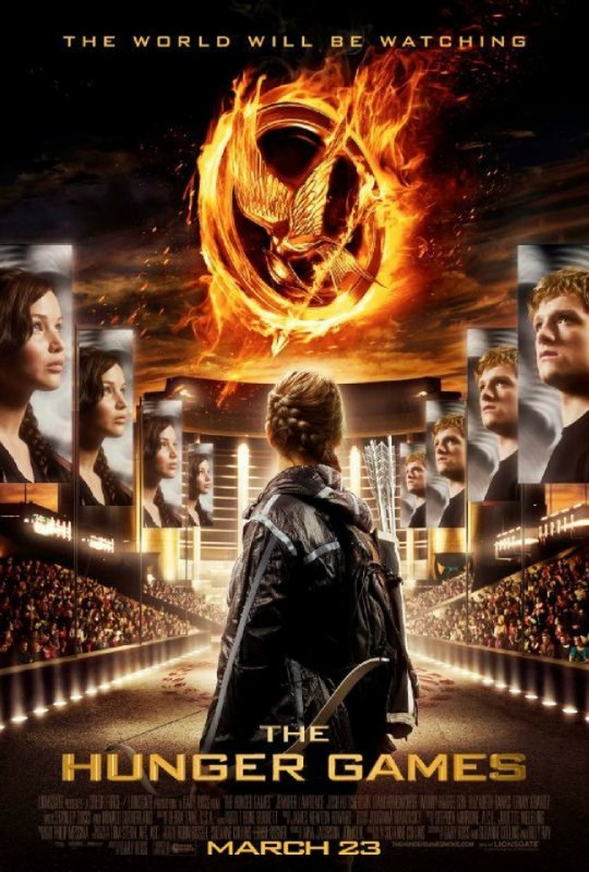 Affiche Officielle d'HUNGER GAMES