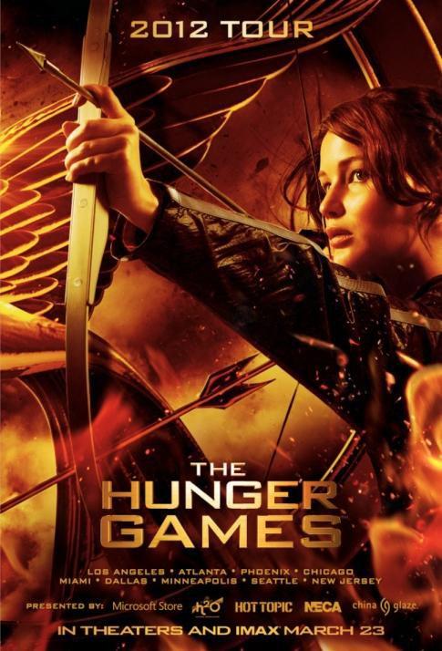 Hunger Games : Reportage sur M6