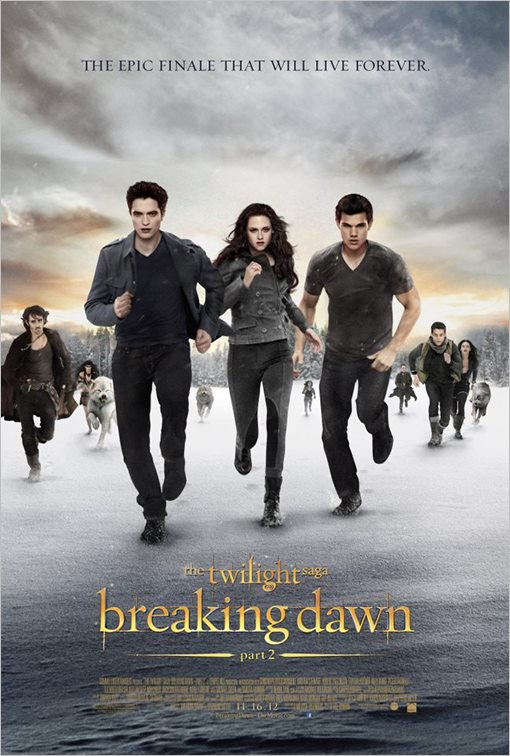 Twilight Chapitre 5 : le poster définitif officiel !