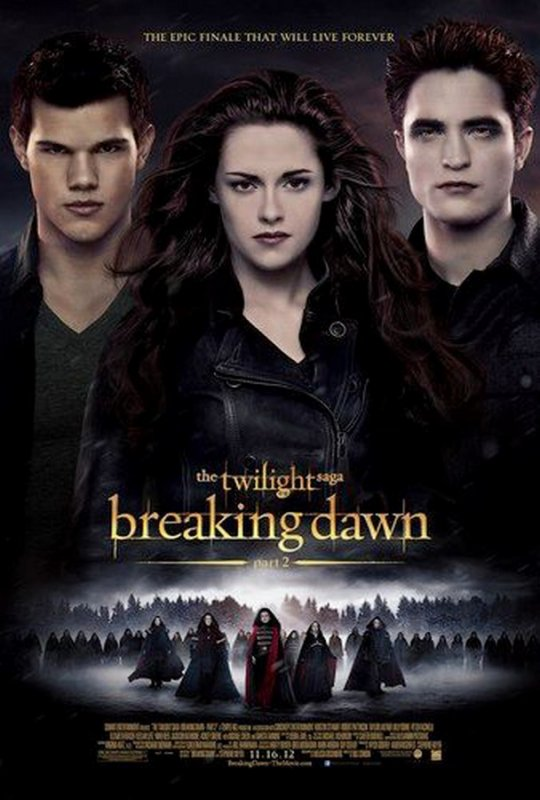 Twilight Chapitre 5 : L'affiche internationale