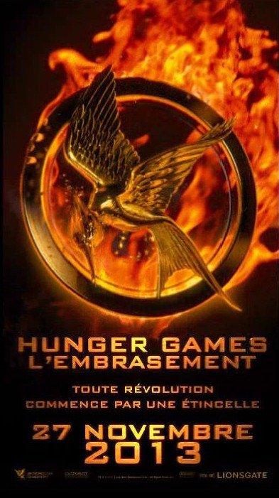 Hunger Games 2 : le poster animé français !