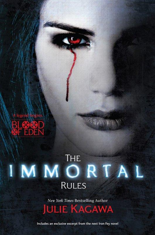 Blood Of Eden de Julie Kagawa : les nouvelles couvertures de la saga