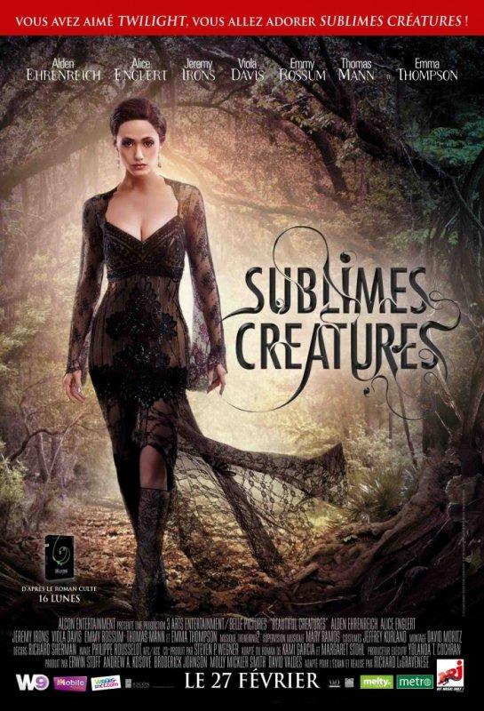 Sublimes Créatures : Les affiches françaises sont enfin arrivées !