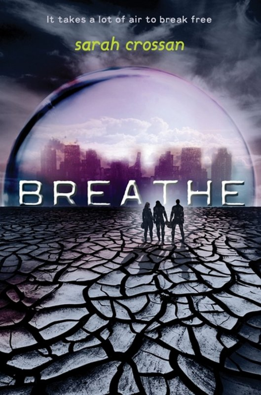 Couverture VO : Breath Tome 2 - Resist de Sarah Crossan