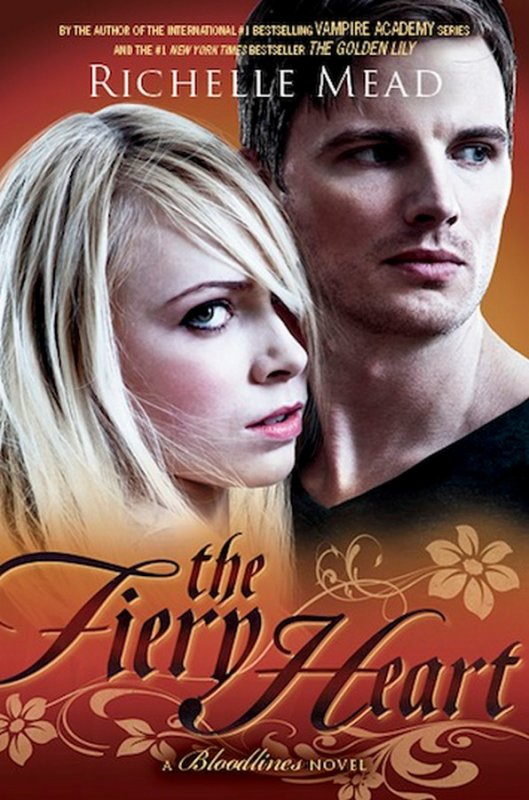 Couverture : Bloodlines Tome 4 - The Fiery Heart de Richelle Mead