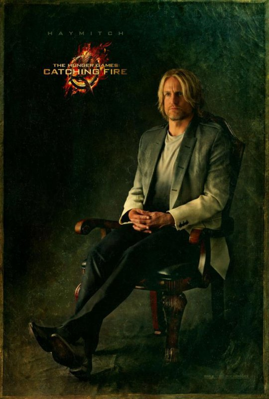 Hunger Games 2 : Le portrait de Haymitch