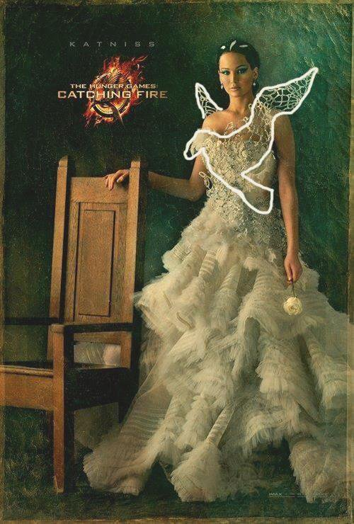 Hunger Games 2 : Le portrait de Katniss