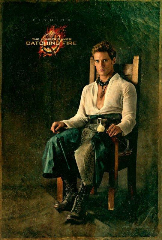Hunger Games 2 : Le portrait de Finnick