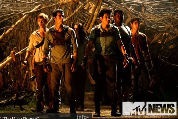 Le Labyrinthe - Le film : les premières images de l'adaptation !
