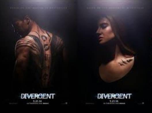 DIVERGENT - LE FILM : aperçus des premiers posters !