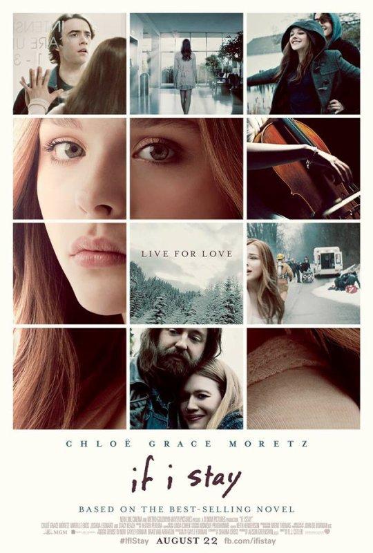 SI JE RESTE - LE FILM : l'affiche !