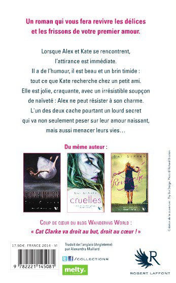 EXTRAIT : A KISS IN THE DARK de Cat Clarke (Collection R)