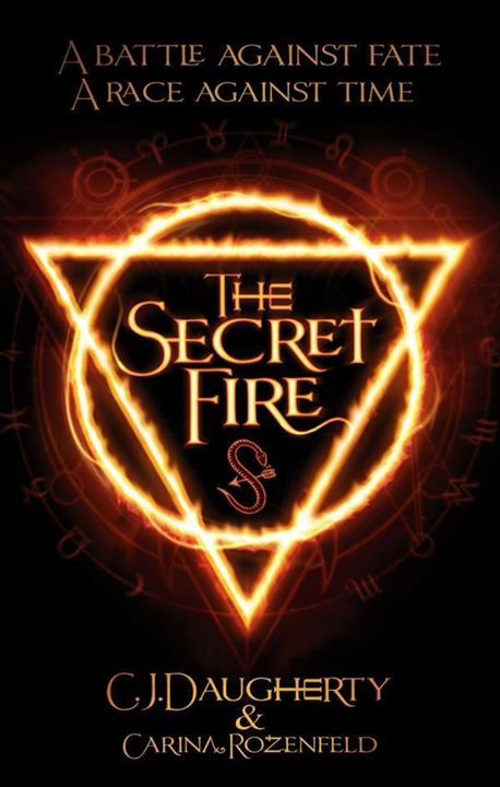 PRÉSENTATION : THE SECRET FIRE T.1 - THE SECRET FIRE de Carina Rozenfeld et  C.J. Daugherty