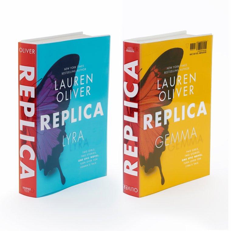 PRÉSENTATION : REPLICA T.1 - REPLICA de Lauren Oliver