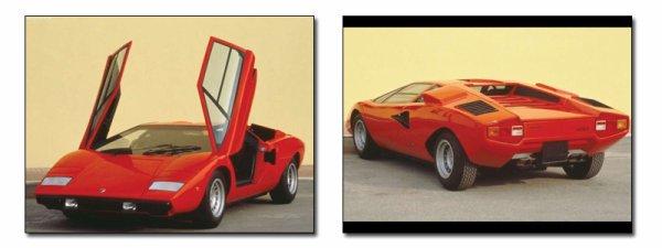 Les supercars I des années 1970