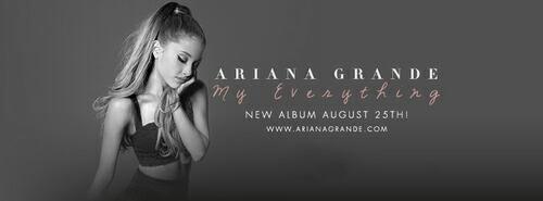 New album Ariana!!!