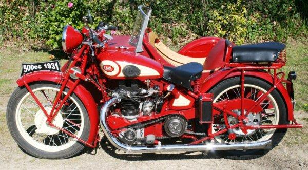 12 ème TOUR DE FRANCE MOTOS ANCIENNES