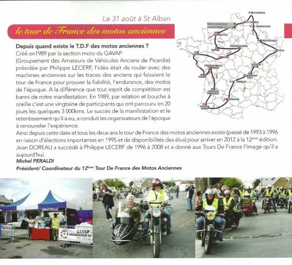 12ème TOUR DE FRANCE MOTOS ANCIENNES