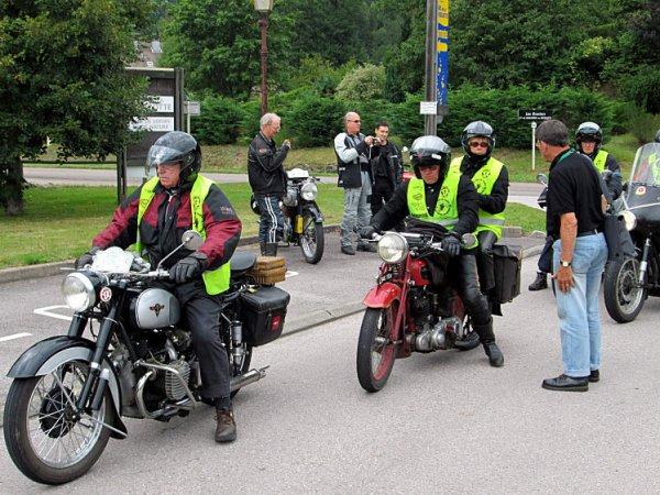 TOUR DE FRANCE DES MOTOS ANCIENNES 2012
