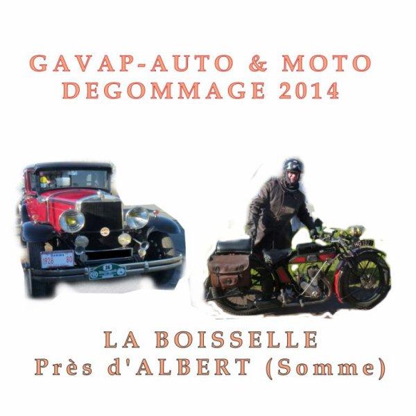 le dégommage  2014 AUTO-MOTO du GAVAP.