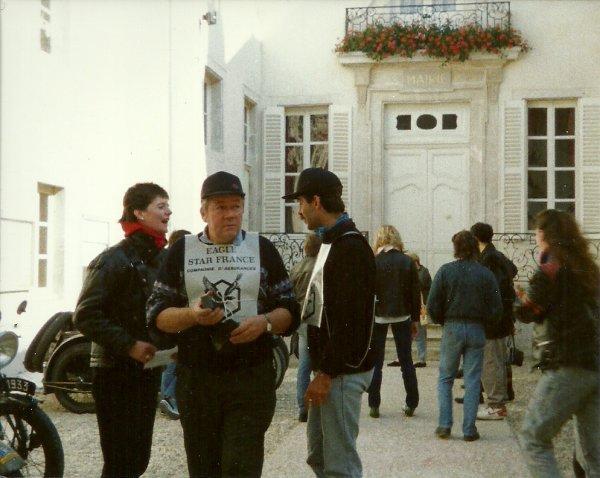 1er TOUR DE FRANCE DES MOTOS ANCIENNES 1989 PAGE 05