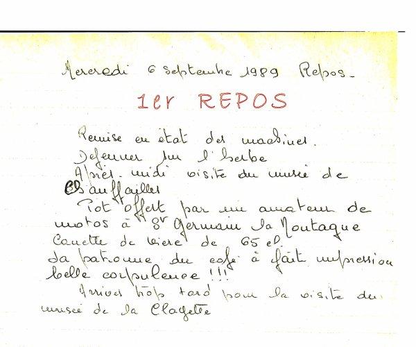 1er TOUR DE FRANCE DES MOTOS ANCIENNES ETAPE 4