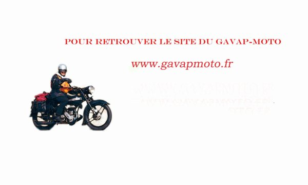 SITE OFFICIEL DU GAVAP-MOTO