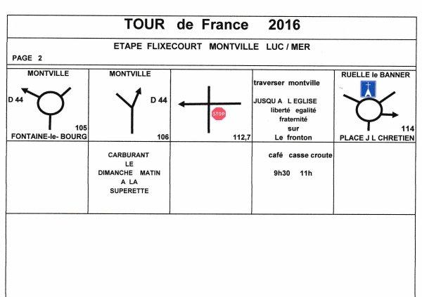TOUR DE FRANCE DES MOTOS ANCIENNES ETAPE 01 ITINERAIRE