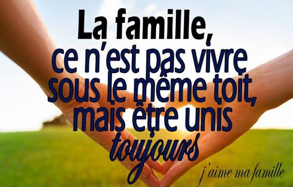 J AIME TROP MA FAMILLE ET MEME CELLE DU COEUR BISOUS JE VOUS AIME.Anne-Laure