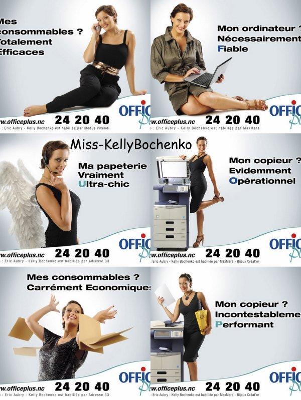 Kelly pose pour Office Plus ! Une photoshoot trés réussi !