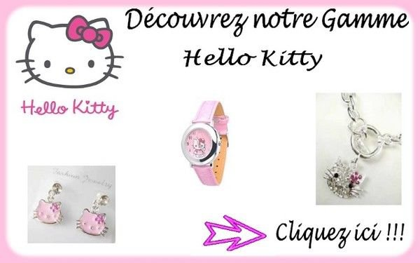Hello kitty à l'honneur