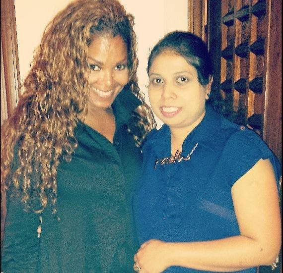Janet à Dubaï