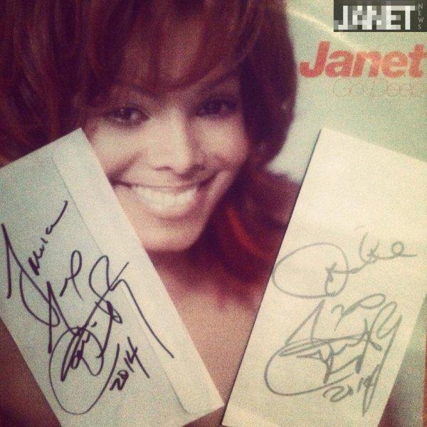 JANET'S AUTOGRAPH
